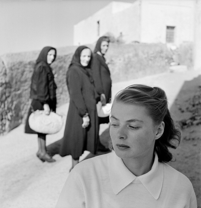 Ingrid Bergman In Stromboli Italy 1949 C The Gordon Parks Foundation
