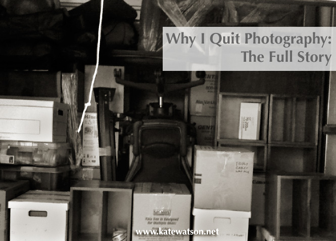 why i quit photography