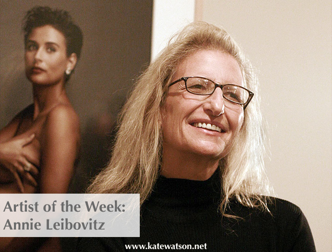 artist of the week Annie Leibovitz - katewatson.net