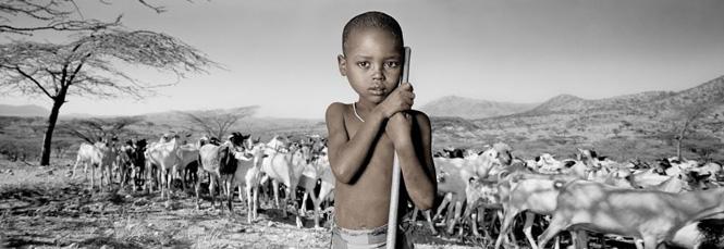 Kinesi, 6, Kenya - (c) Phil Borges