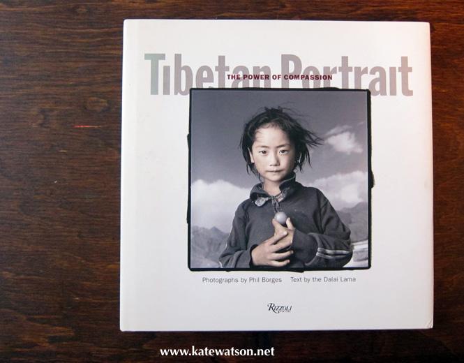 Tibetan Portrait by Phil Borges