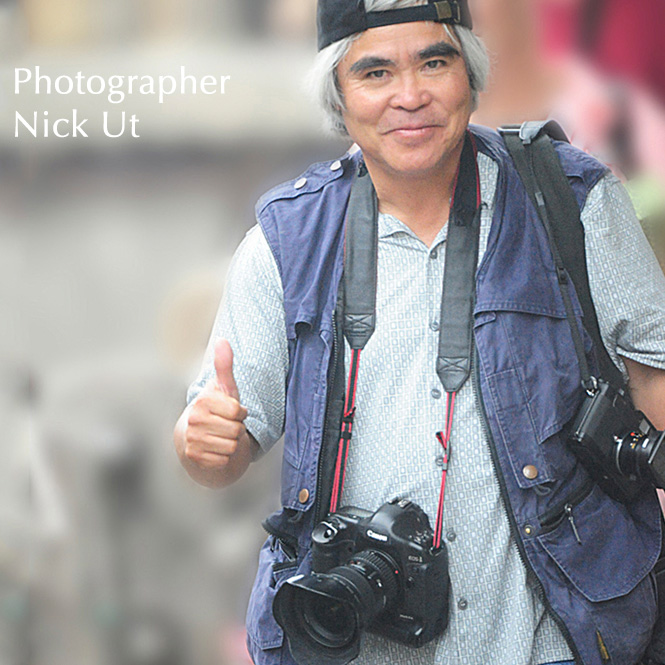 Photographer Nick Ut