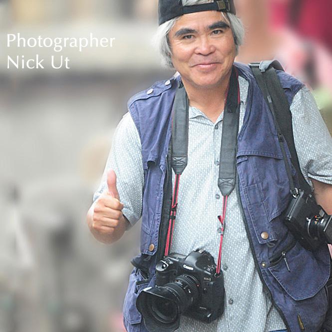 Photographer Nick Ut