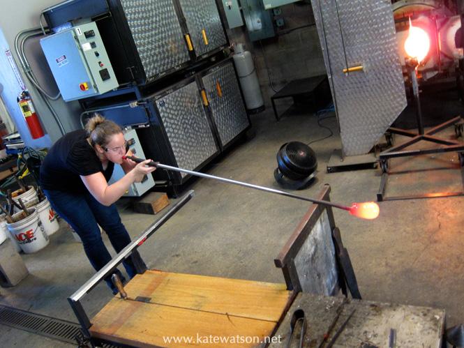 glassblowing class