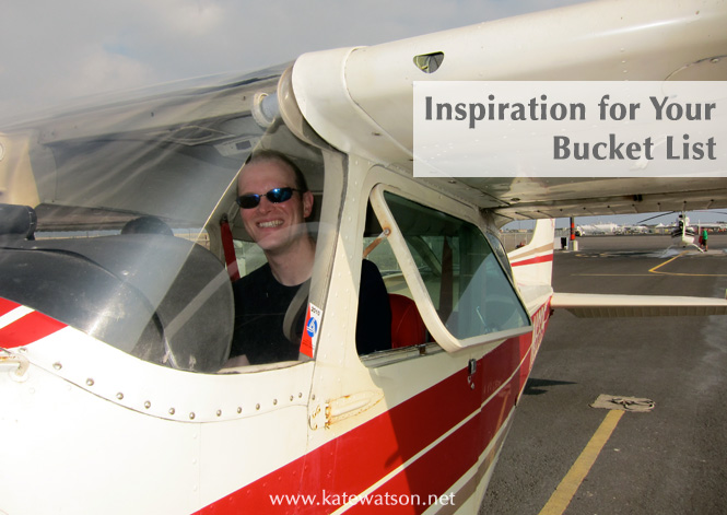 inspiration for your bucket list