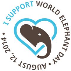 world elephant day logo