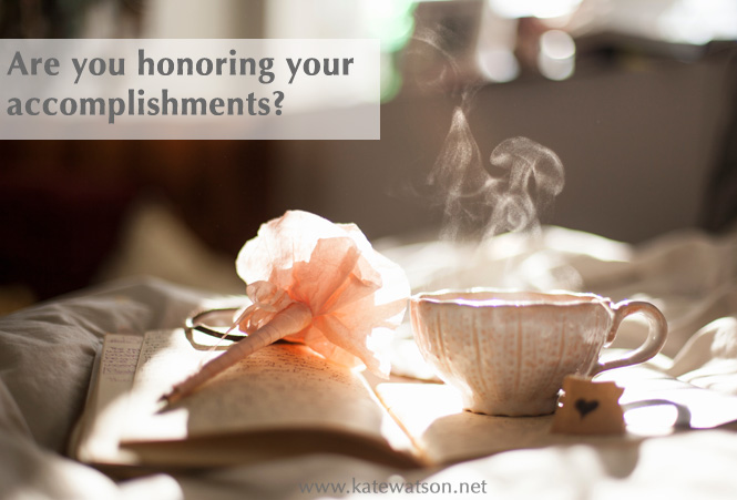 are you honoring accomplishments