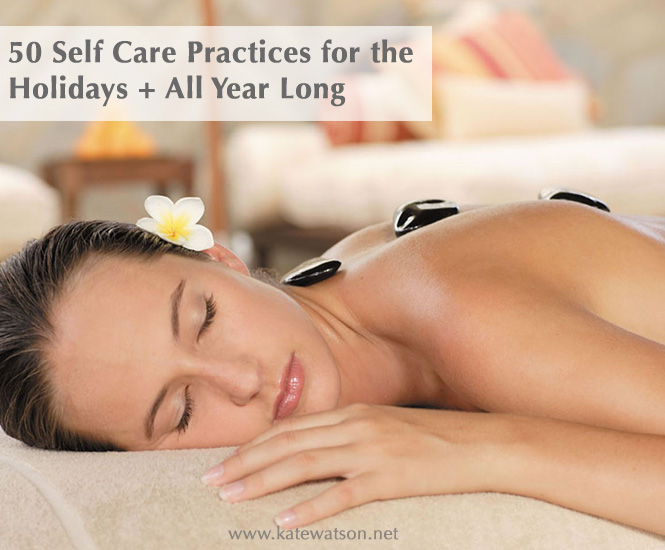 50 Self Care Practices