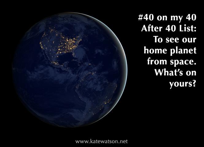 40 After 40 List