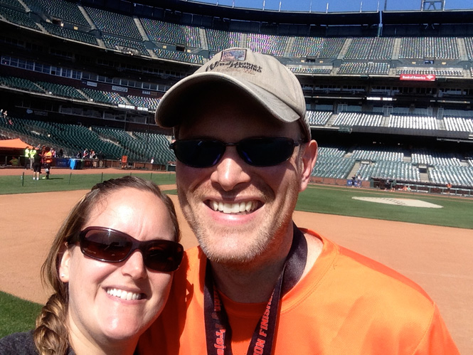 On the Field at AT&T Park