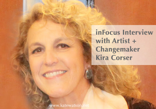 Artist + Changemaker Kira Corser