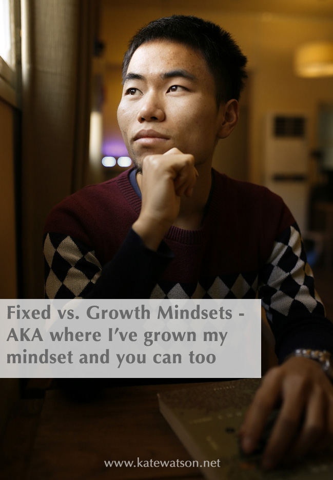 Fixed vs Growth Mindsets