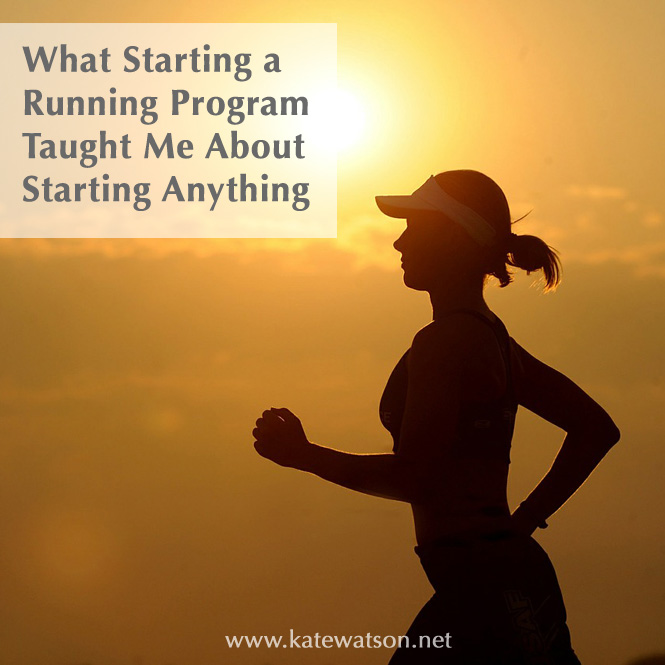 What Starting a Running Program Taught Me About Starting Anything