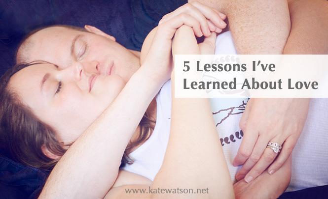 5 lessons I