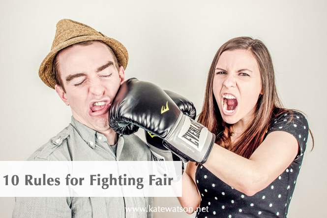 10 Rules for Fighting Fair