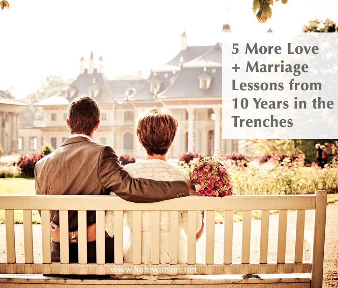 5 More Love + Marriage Lessons on My 10th Anniversary