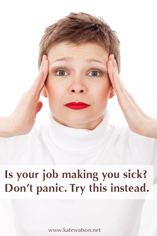 Is your job making you sick?