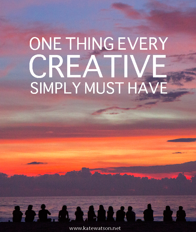 What Every Creative Must Have