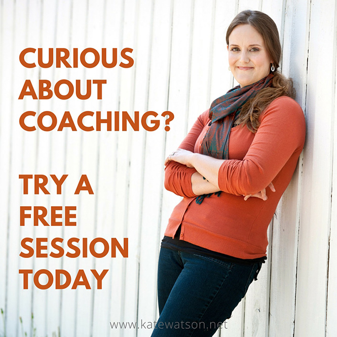 Curious About Coaching? Try a Free Session Today