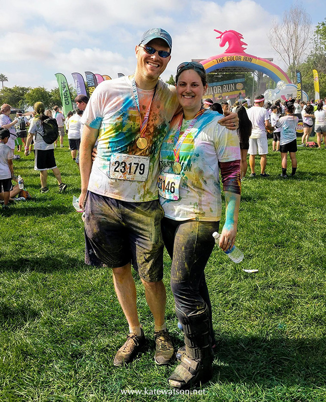 Color Run San Jose 2017